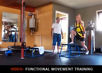 Functional Movement training demonstration video by M-Power in Kelowna